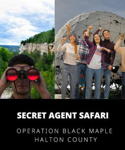 Secret Agent Safari