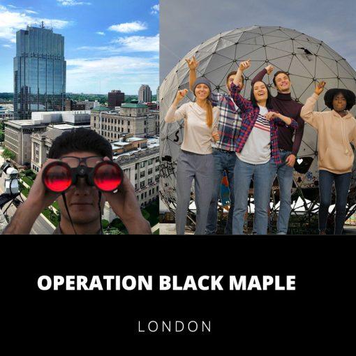 Operation Black Maple London