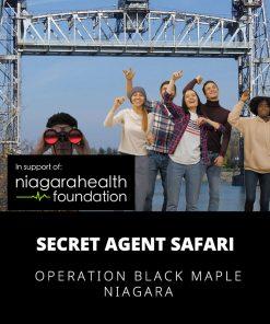 Secret Agent Safari