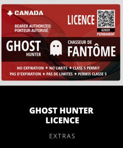 Ghost Hunter Licence